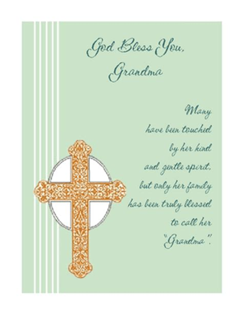 printable birthday cards grandma god bless grandma greeting card mother s day printable