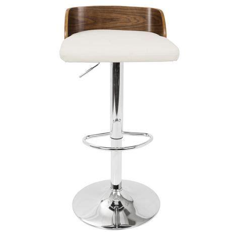 mid century modern adjustable bar stools mid century modern adjustable barstool by lumisource