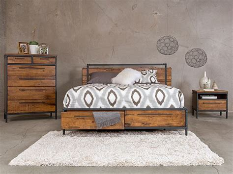 Industrial Bedroom Set by Industrial Loft Bedroom The World S Catalog Of