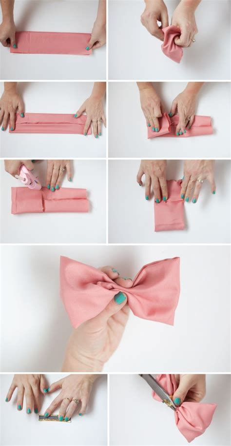 bun bow bows and bow tutorial on pinterest