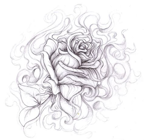 cool tattoo sketches and drawings 59 best drawings of roses images on pinterest rose