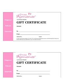 gift certificate templates free for word gift certificate template for word