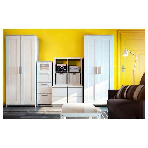 brimnes wardrobe with 2 doors white 78x190 cm ikea
