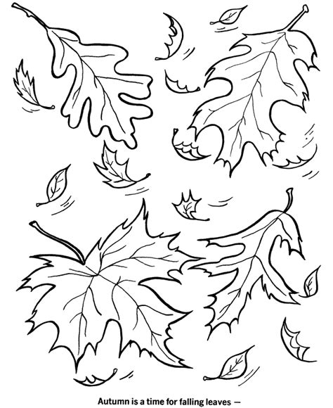 coloring pages about autumn preschool fall coloring pages az coloring pages