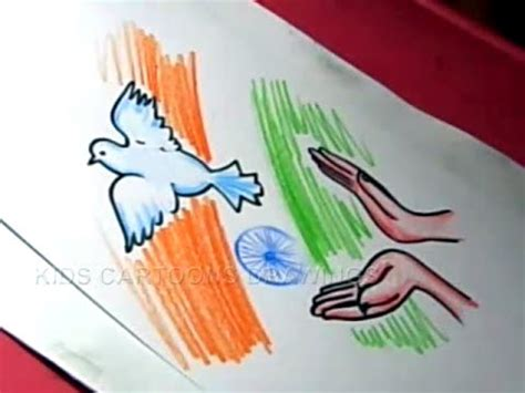 drawing themes for independence day how to draw easy independence day drawing designs step
