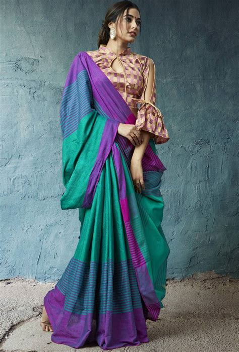 latest cotton sarees collection     mirraw