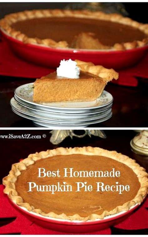 pumpkin pie recipe from scratch simple