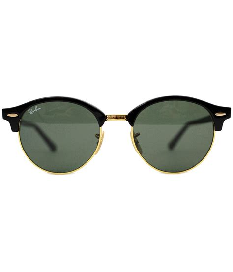 S Retro Sunglasses Black ban clubround retro mod 60s sunglasses in black