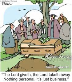 Funeral Bulletins Funeral Service Cartoons And Comics Funny Pictures From Cartoonstock