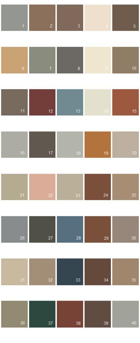 behr paint colors palette 11 house paint colors