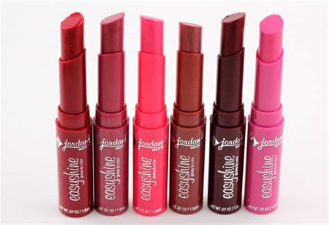 A Lip Shine Grape Delight 405942 these jordana easyshine glossy lip colors look like they