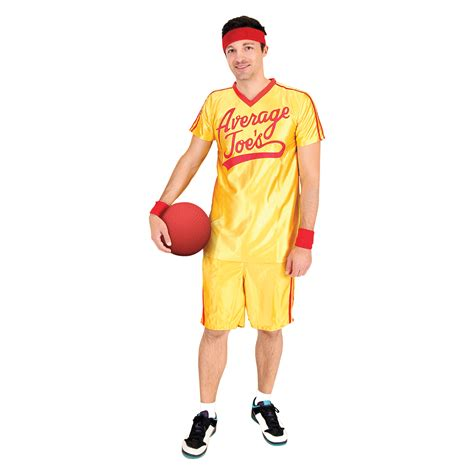 Costume Set dodgeball average joe s costume set