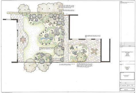 japanese garden plans japanese garden plan