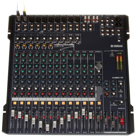 Mixer Yamaha Mg166cx yamaha mg166cx usb ヤマハ 価格 本間高尾のブログ