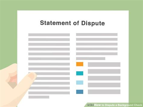 Disputing Background Check How To Dispute A Background Check With Pictures Wikihow