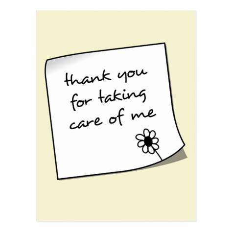 thank you note postcard zazzle