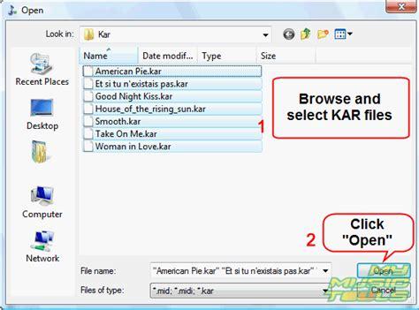 file format kar how do i convert kar to mp3 kar converter
