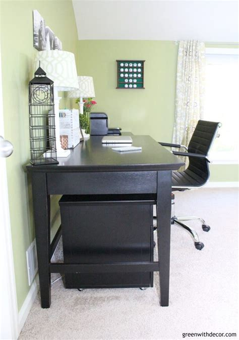 Home Office Desk Black Friday Feature Friday Green With Decor Southern Hospitality