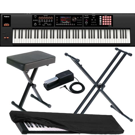 Keyboard Roland Fa 08 roland keyboard fa 08 88 weighted key workstation with x stand xbench dp 10 der