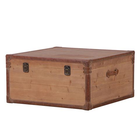 Wood Trunk Coffee Table Wooden Trunk Coffee Table By Out There Interiors Notonthehighstreet