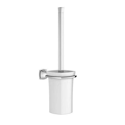 Grohe Toilette by Grohe Grandera Wall Mount Toilet Brush With Holder In