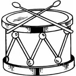 drum template drum coloring page