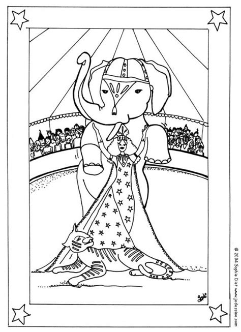circus tent coloring page coloring home