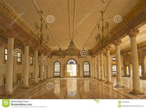 Contemporary Foyer Darbar Hall Of Historic Architecture Indore Stock Photo