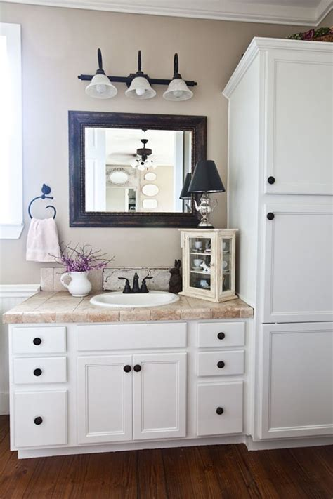 Country Bathroom Furniture Step Inside A Farmhouse Decorated With Charming Country Style Vanities Cabinets