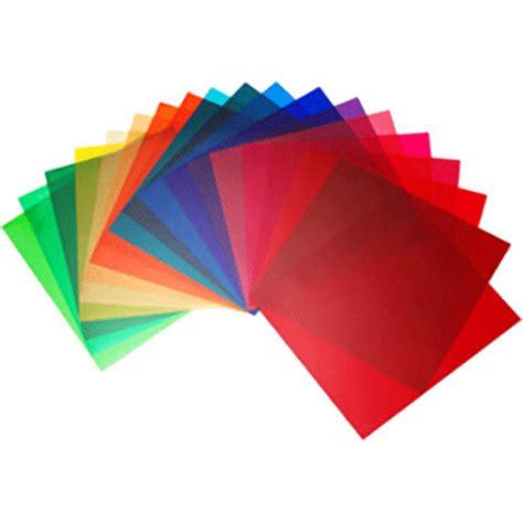 elinchrom color filter set of 20 21 x 21cm el26256 b h photo