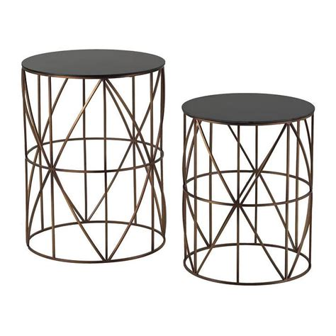 metal round accent table gold finish round metal accent tables