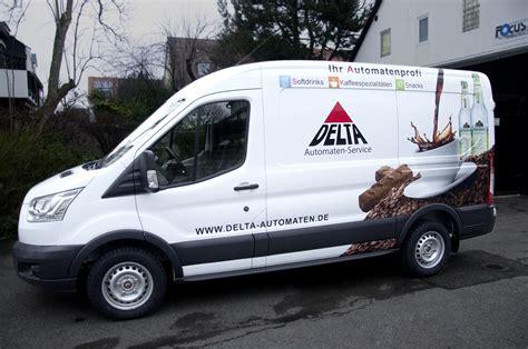 Fahrzeugbeschriftung Erlangen by Fahrzeugbeschriftung Delta Automaten Service Eis Hei 223