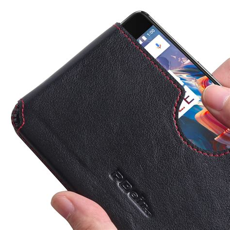Wallet Oneplus 3 Premium Leather With Card Slot Murah oneplus 3 leather wallet sleeve stitch pdair