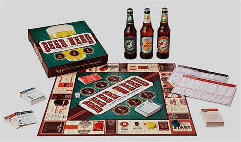 Nerdy Invention By Mayday Boardgame board puts your brew knowledge to the test