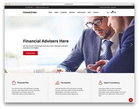 business consulting website templates 20 best business consulting themes 2018 colorlib