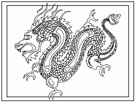 free coloring pages of chinese dragons chinese new year dragon coloring page az coloring pages
