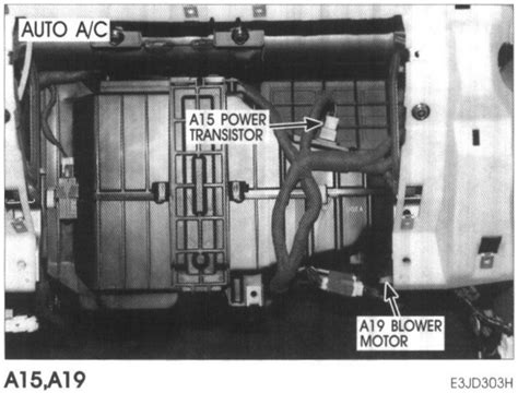 hyundai xg350l blower motor resistor location heater blower not working on my hyundai santa fe vin km8sc13d83u430422