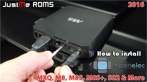 how to setup android tv box how to install openelec on mx2 mxq m8 m8s m8s minix beelink android tv box