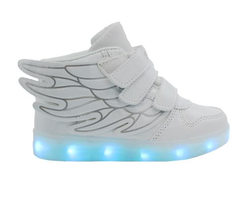 26 30 Wings Led Shoes galaxy led shoes light up usb charging high top wings sneakers white galaxy shoes