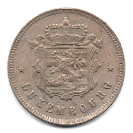 Armoiries Du Luxembourg by 25 Centimes Armoiries Du Luxembourg 1927