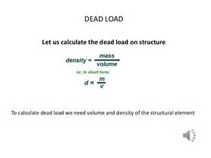 How To Figure Gravel Calculation Of Dead Load
