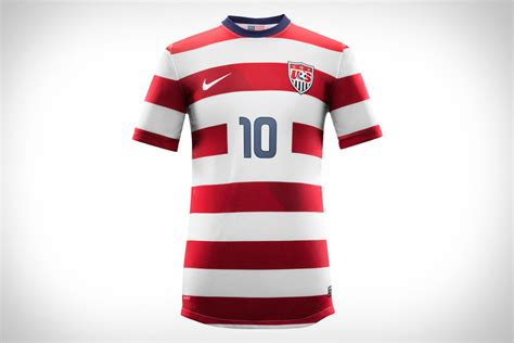 Usa men's soccer jersey history online