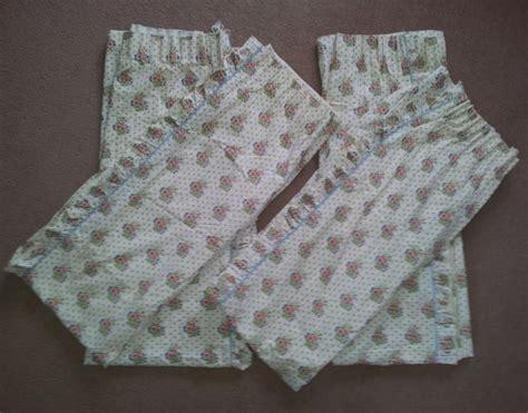 laura ashley vintage curtains laura ashley vintage floral curtains 2 sets
