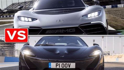 mercedes mclaren p1 mercedes amg project one vs mclaren p1
