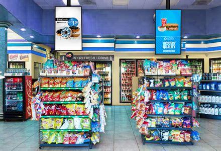digital stores convenience store digital signage