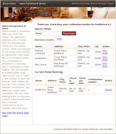 1 6 a complete seam application the hotel booking example