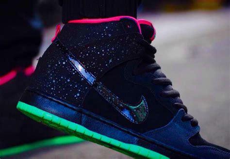 Nike Sb Northern Lights by Premier X Nike Sb Dunk High Northern Lights The Sole