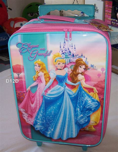 disney princess character pink childrens girls toddler kids duvet quilt cover ebay disney princess cinderella girls pink kids rolling luggage