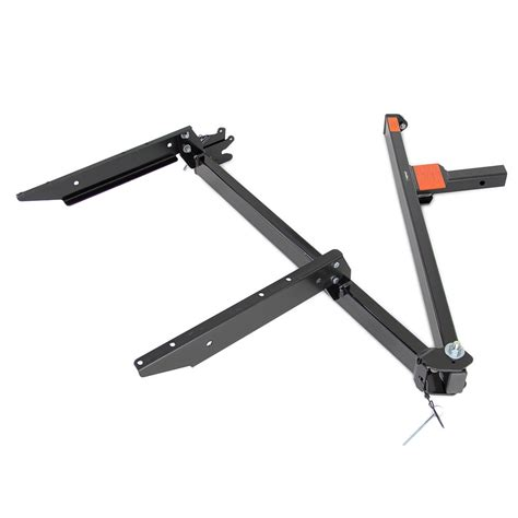 swing away trailer hitch rola cargo carrier swinging arm assembly rola accessories