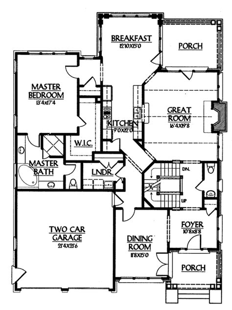 Bob Timberlake House Plans Creston Cove Bob Timberlake Inc Southern Living House Plans